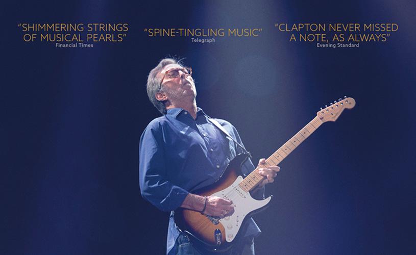 Eric Clapton: Slowhand at 70 nos cinemas portugueses