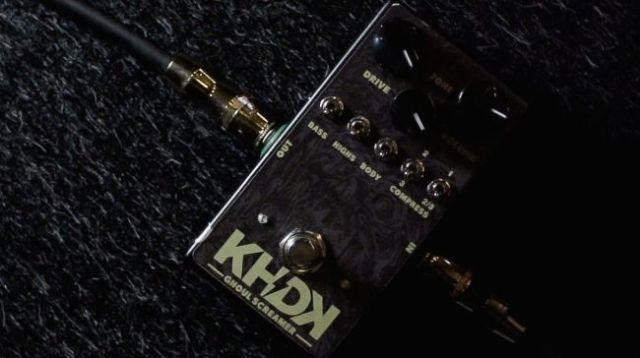 O Ghoul Screamer é o primeiro pedal da marca.