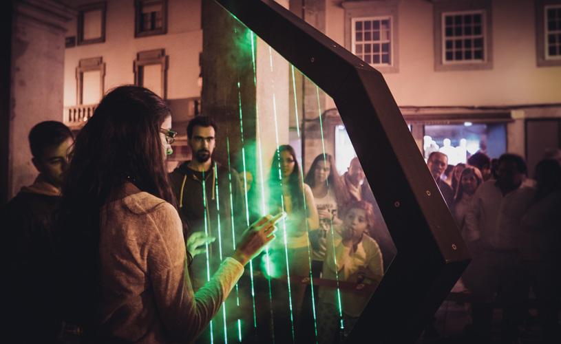 Harpa Laser portuguesa