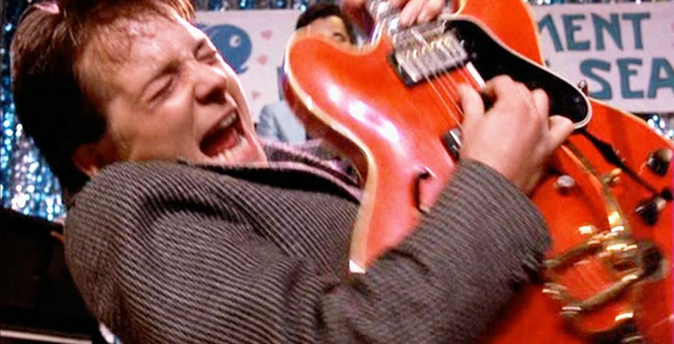 A Gibson de Marty McFly