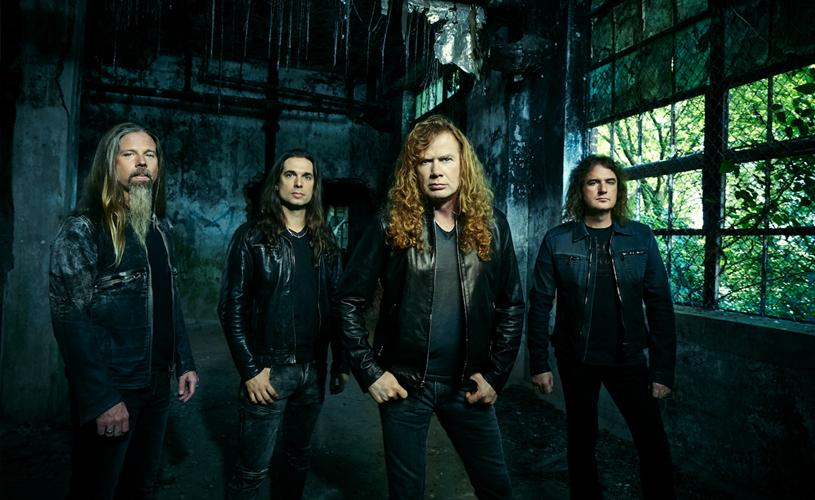 """""""Dystopia"""" é o novo álbum dos Megadeth"""