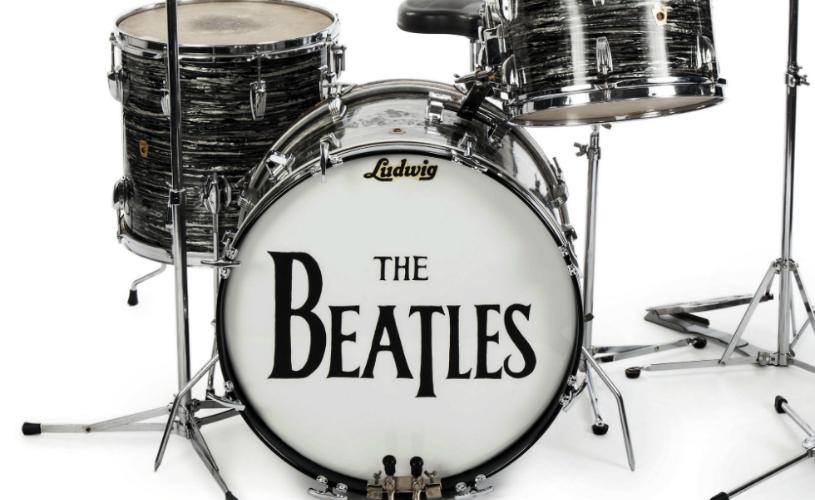 A Ludwig de Ringo Starr em Leilão