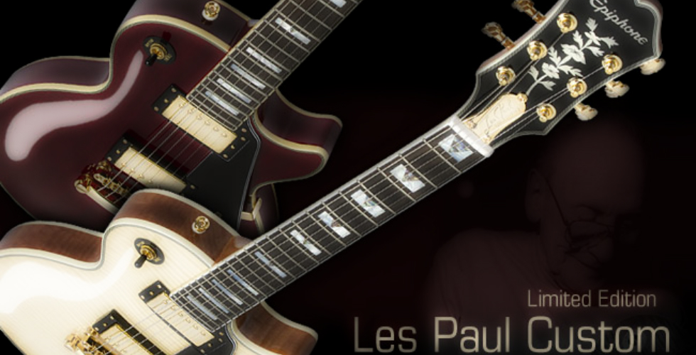 Epiphone Les Paul Custom 100th Anniversary