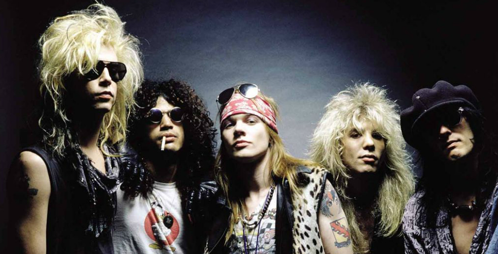 Guns N' Roses, Pólvora Seca