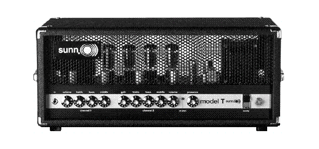 """O Model T, do início dos anos 70, é uma """"cópia"""" de um Plexi, com 150 watts de músculo, ganhando em headroom, devido ao transformador e ao circuito pentódico de válvulas 6550."""