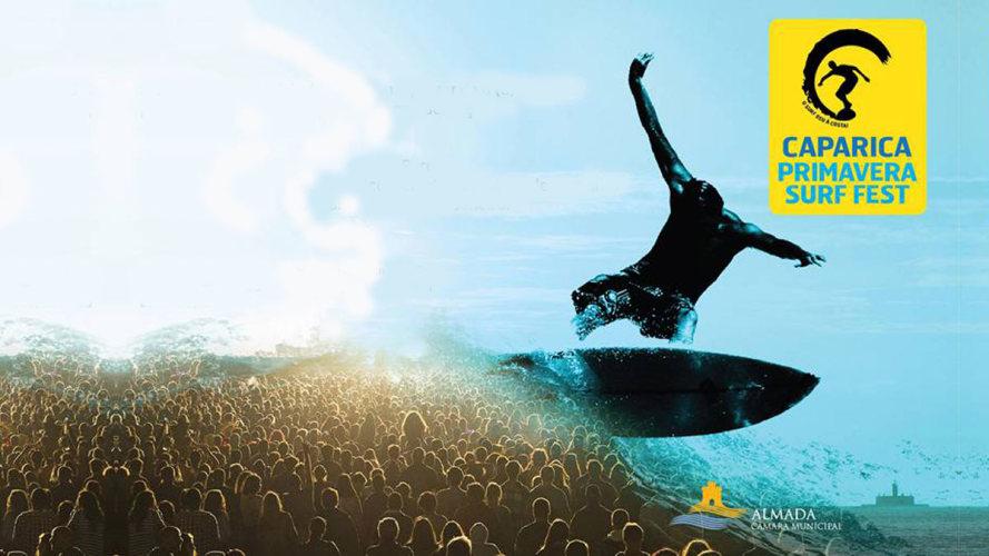 Caparica Primavera Surf Fest 16: dez dias de música e surf!