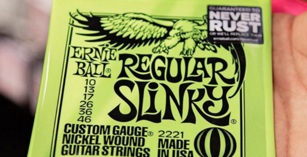 Ernie Ball NeverRust