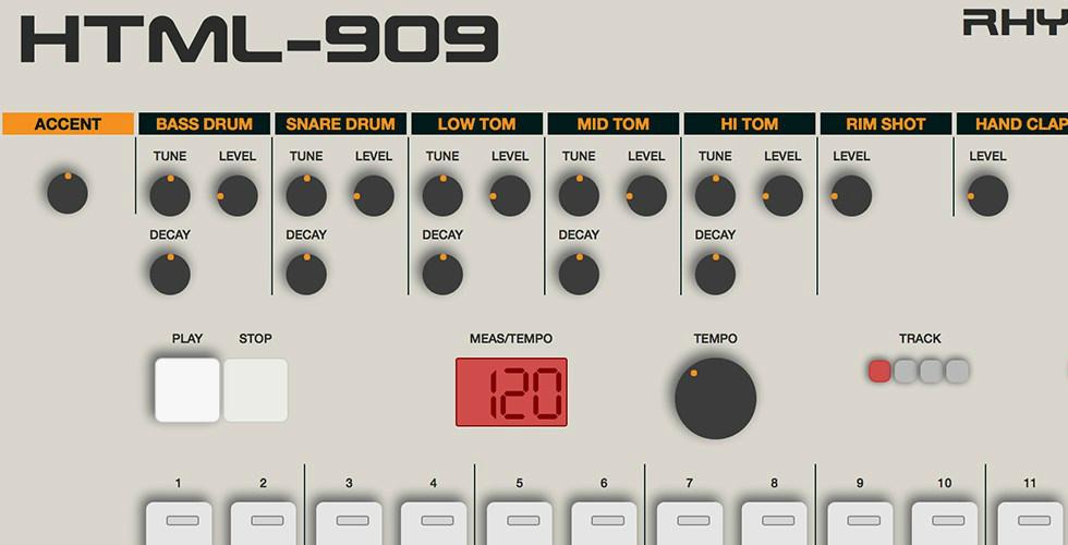 Roland TR-909 Online