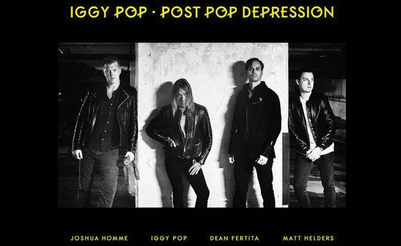"""Iggy Pop e Josh Homme gravam álbum juntos. Ouve """"Gardenia""""."""