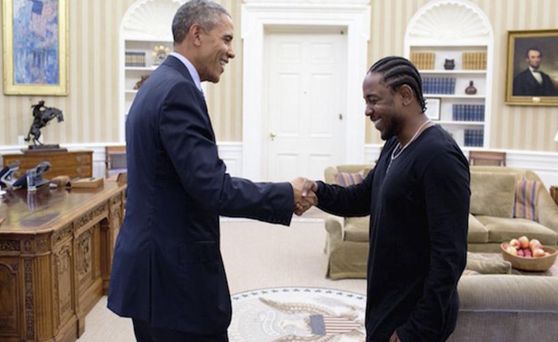 Kendrick Lamar e a visita à Casa Branca