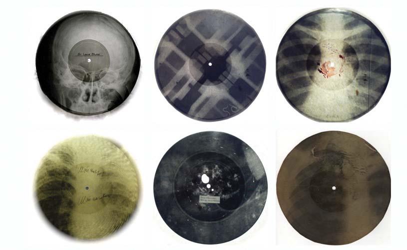 Ribs: Os raio-x dos soviéticos que serviam como discos