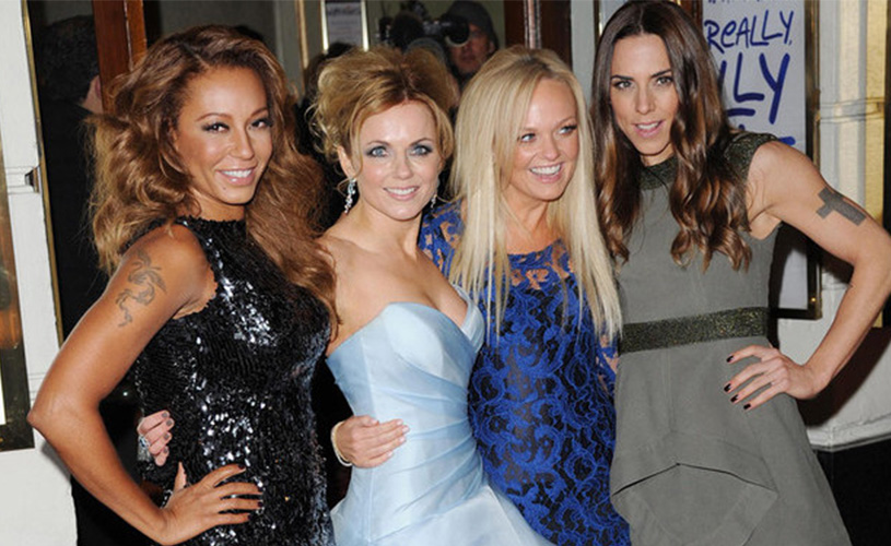 The Spice Girls: reunião sim, mas sem Vitoria Beckham