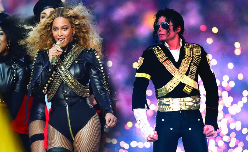 Super Bowl: Michael Jackson vs Beyoncé