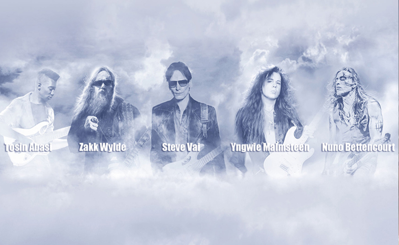 Vai, Wylde, Malmsteen, Bettencourt e Abasi juntos em tour!