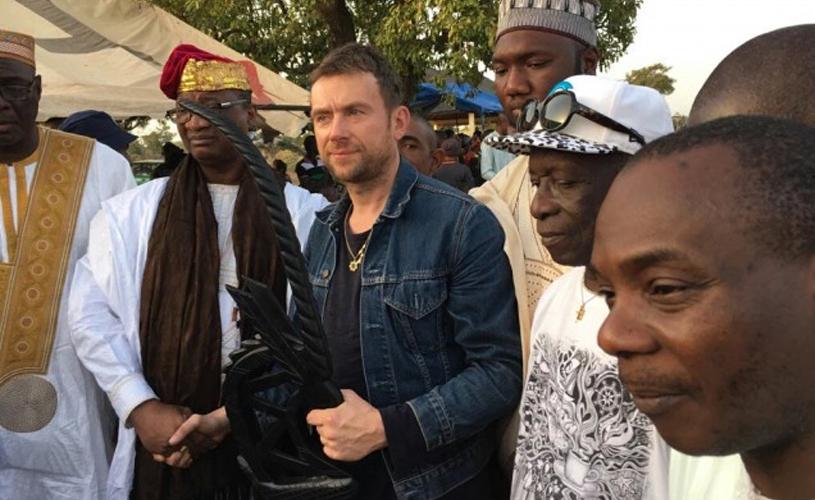 Damon Albarn condecorado rei honorário do Mali