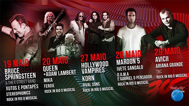 Este ano no Rock in Rio...