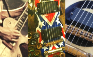 zakk wylde guitars collage