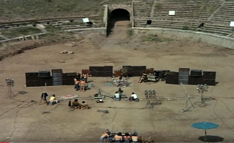 David Gilmour regressa a Pompeia para dois concertos