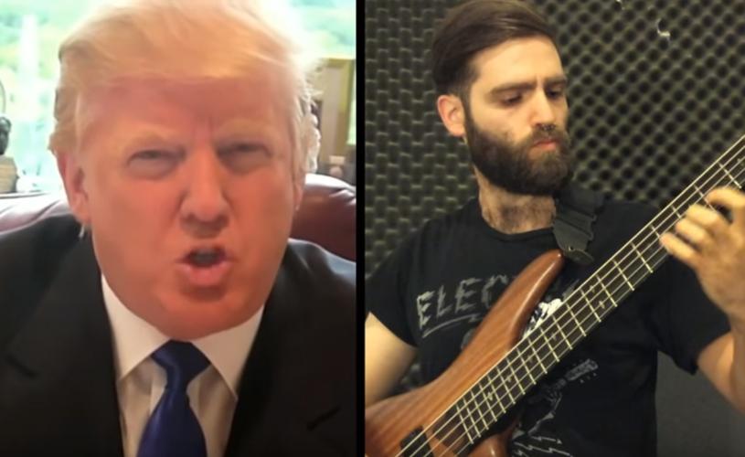 Donald Trump soa melhor com uma linha de baixo