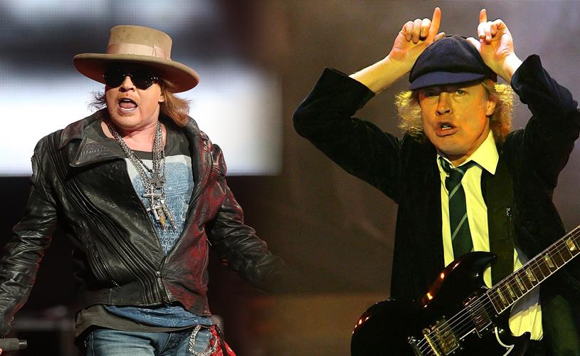 Angus Young Garante Que Axl Rose Nunca Gravou Com AC/DC