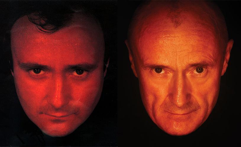 Phil Collins actualiza retratos das suas reedições