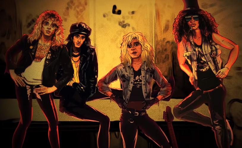 Slash e Nikki Sixx em documentário de Duff McKagan