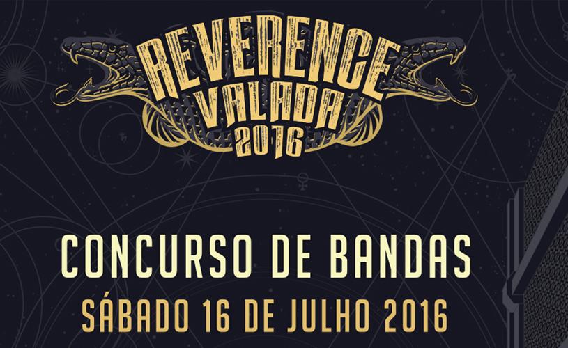 Reverence Valada abre concurso de bandas!