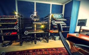 chvrches studio tour