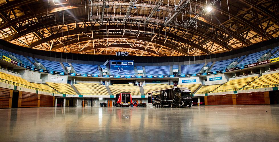 MEO Arena, Work In Progress