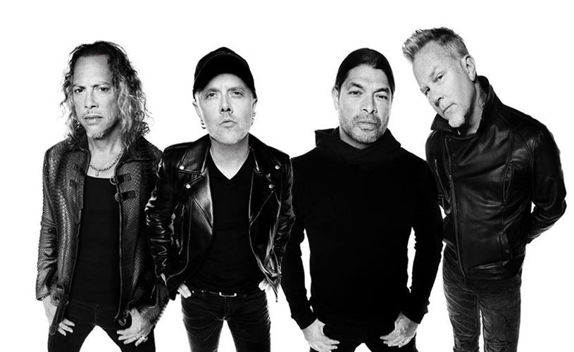 James Hetfield já está de regresso aos palcos