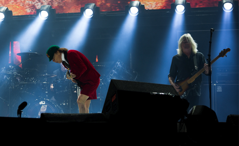 O fim de AC/DC? Cliff Williams decidiu abandonar o projecto