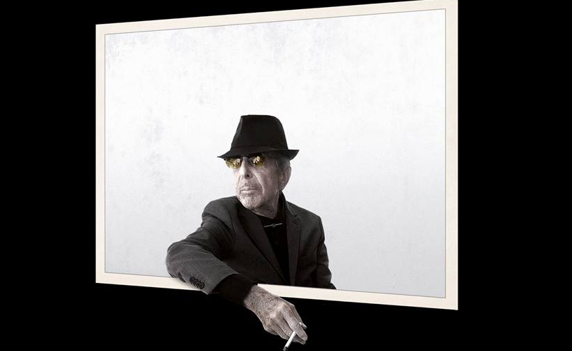"Leonard Cohen divulga inédito, ""You Want It Darker"""