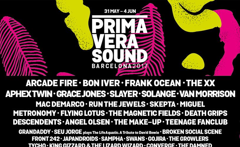 Primavera Sound de Barcelona, o cartaz completo!