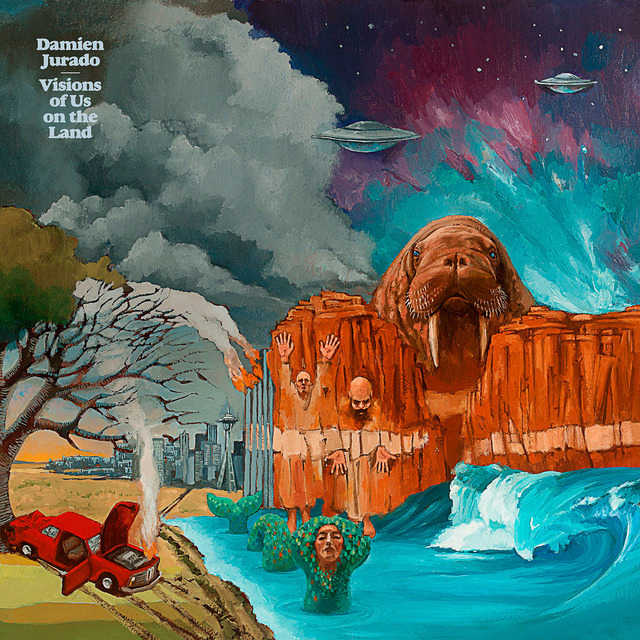 "Damien Jurado, ""Visions Of Us On The Land"". Secretly Canadian."