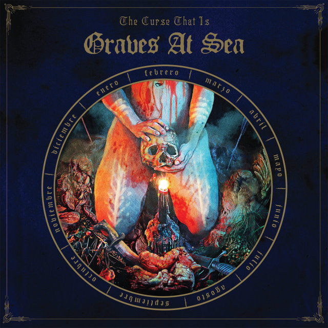 "Graves At Sea, ""The Curse That Is"". Relapse Records."