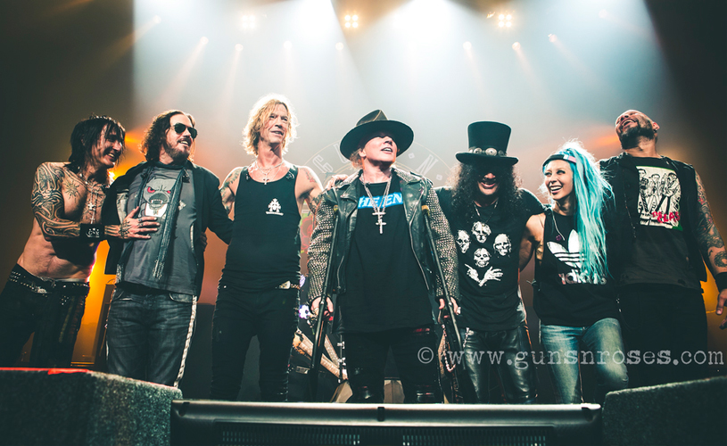 Slash Confirma Novo Álbum de Guns N' Roses