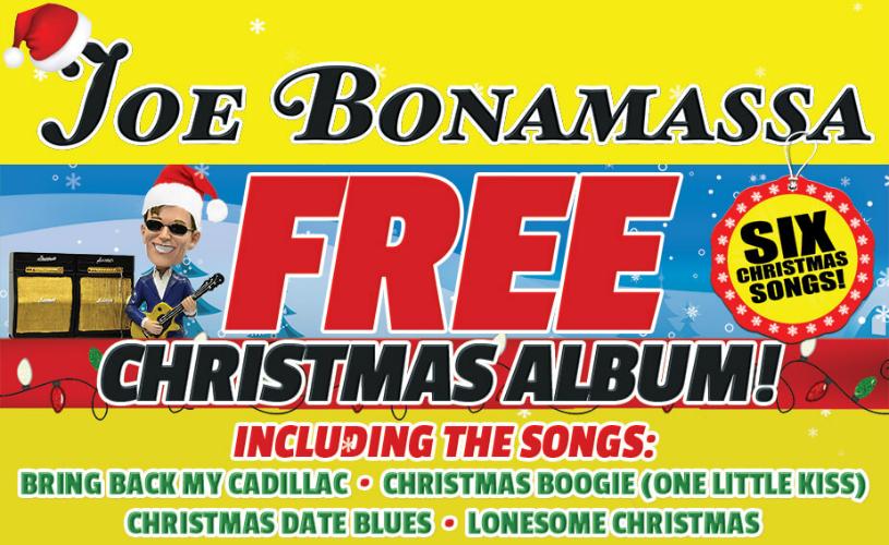 Joe Bonamassa Christmas Album