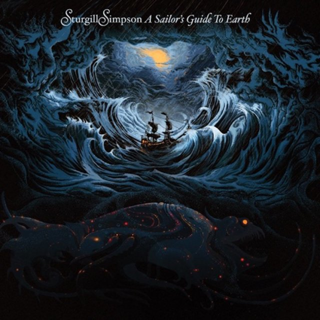 "Sturgill Simpson, ""A Sailor's Guide To Earth"". RJ Records, Inc."