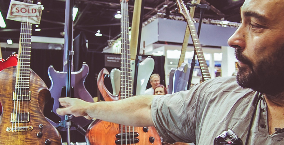 Ergon Guitars, Um Pouco de Portugal na NAMM 2017