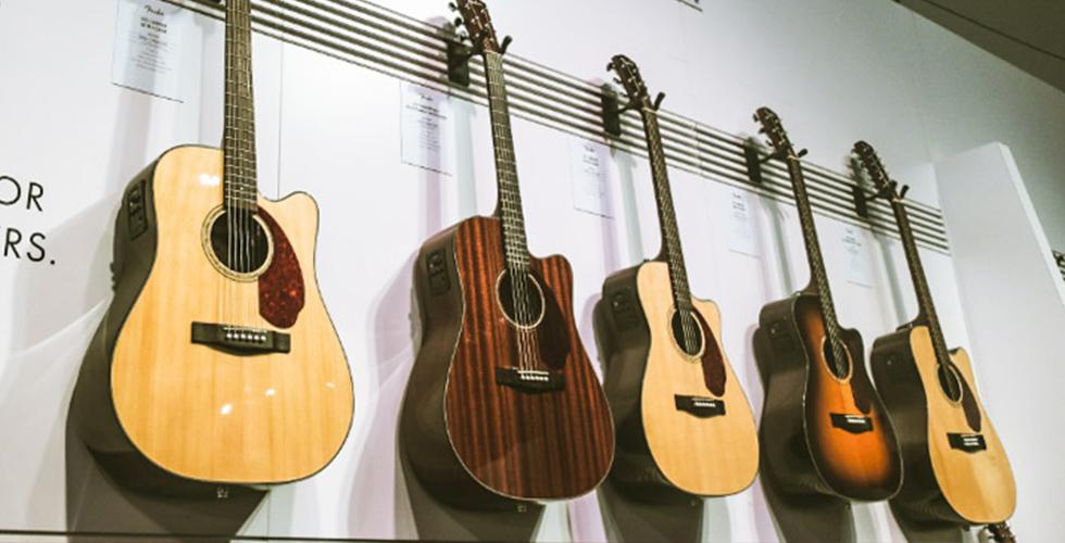 Novas Acústicas Fender