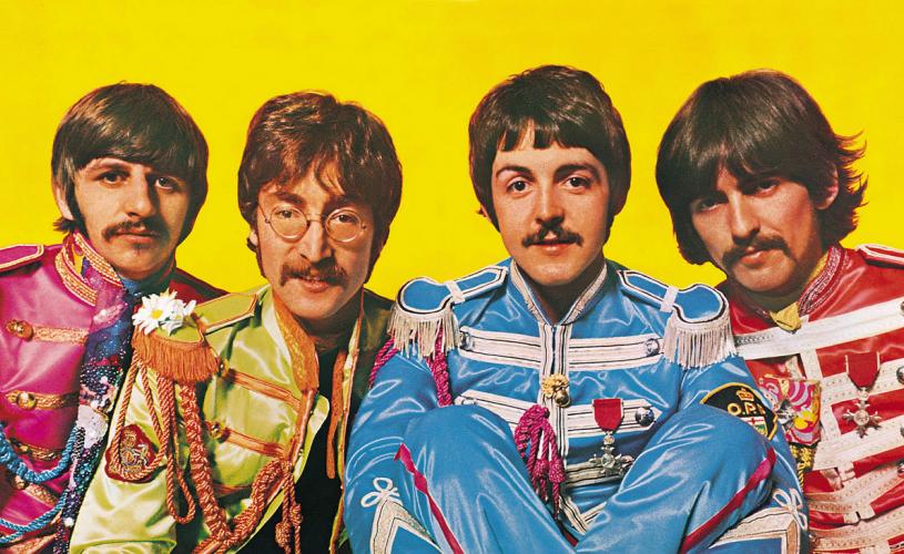The Beatles com duas das 10 capas mais emblemáticas de todos os tempos