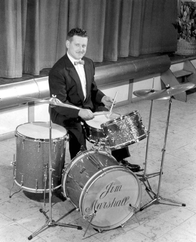 Jim Marshall foi um exímio baterista de jazz.