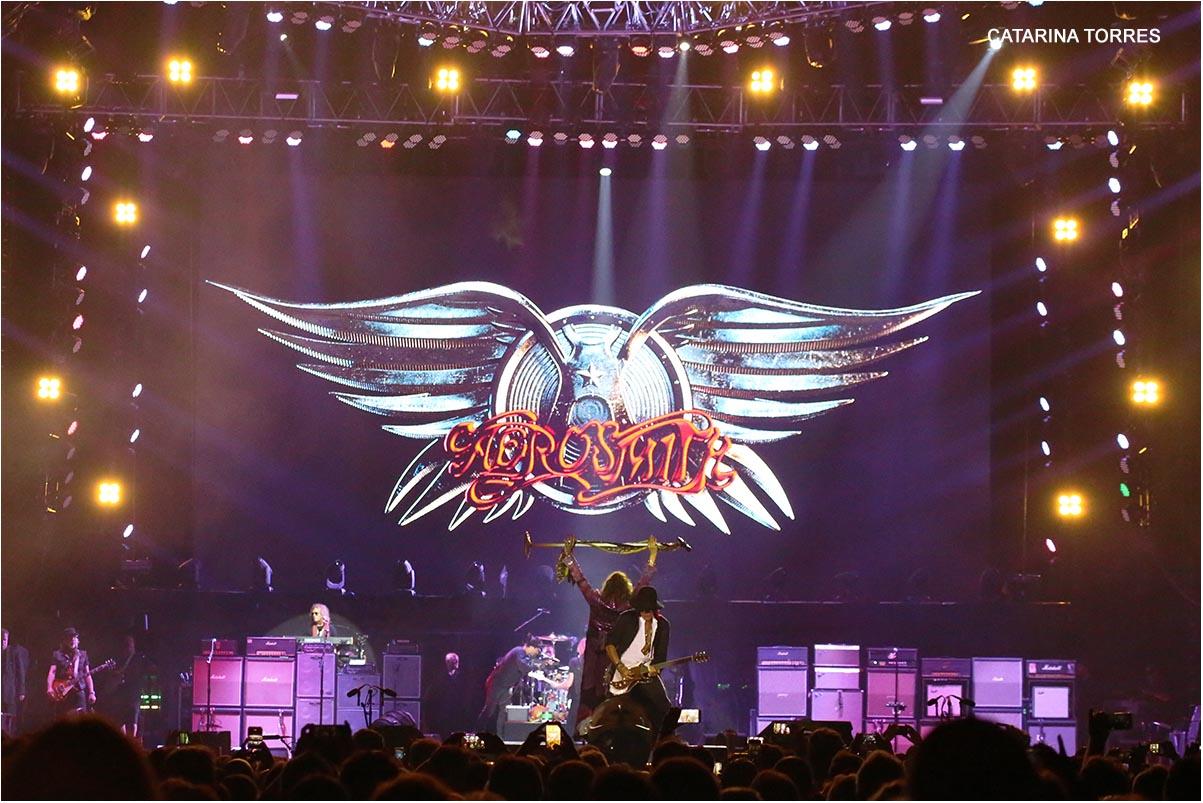Aerosmith Remarcam Visita a Portugal para 2021