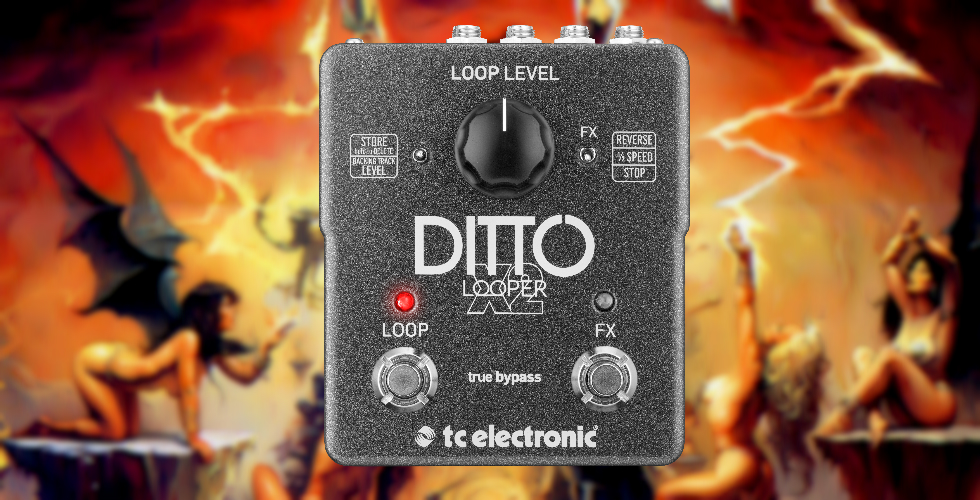 Ditto Looper X2, Harmonizações Épicas de Manowar [Vídeo]