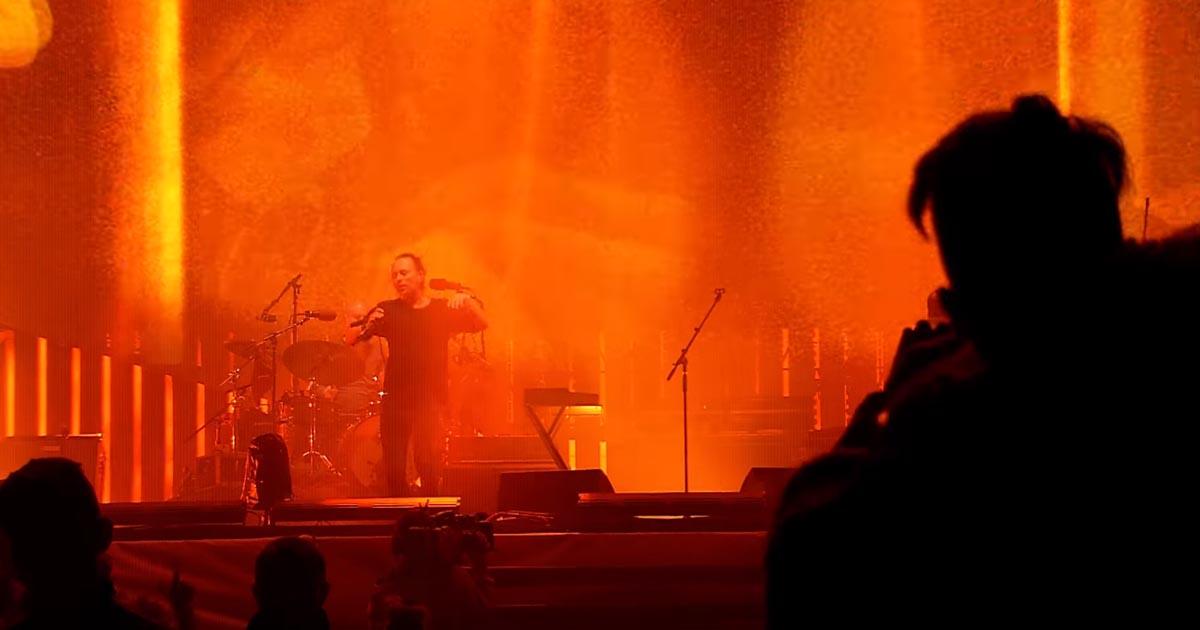 Quarentena Corona: Radiohead transmite em streaming vários concertos