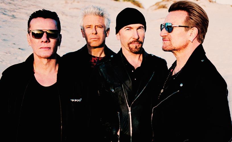 """U2 divulgam nova música """"The Blackout"""""""