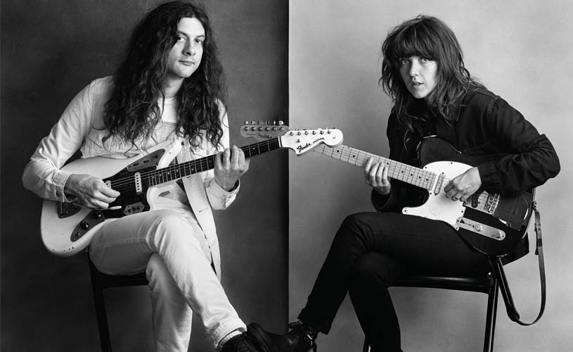 "Courtney Barnett e Kurt Vile em LP colaborativo, ""Lotta Sea Lice"""
