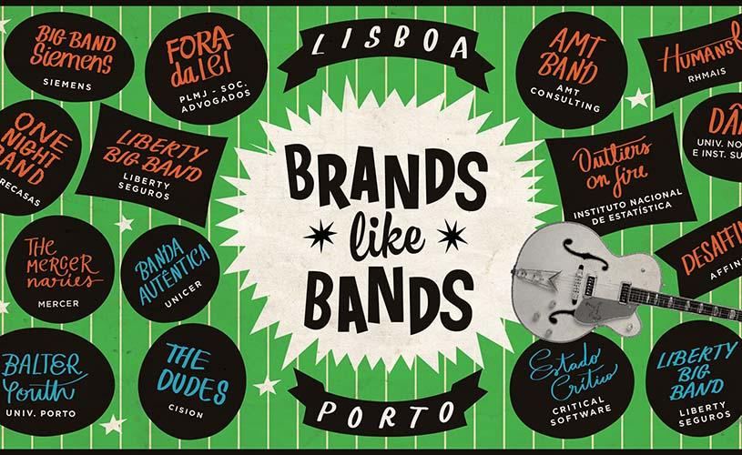 BRANDS LIKE BANDS: O festival de bandas de empresas está de regresso