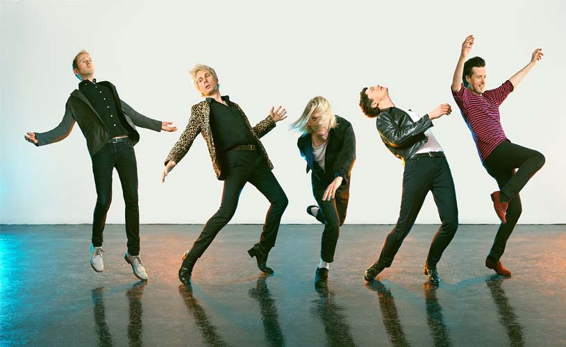 "Franz Ferdinand ""ascendem"" com ""Feel The Love Go"""