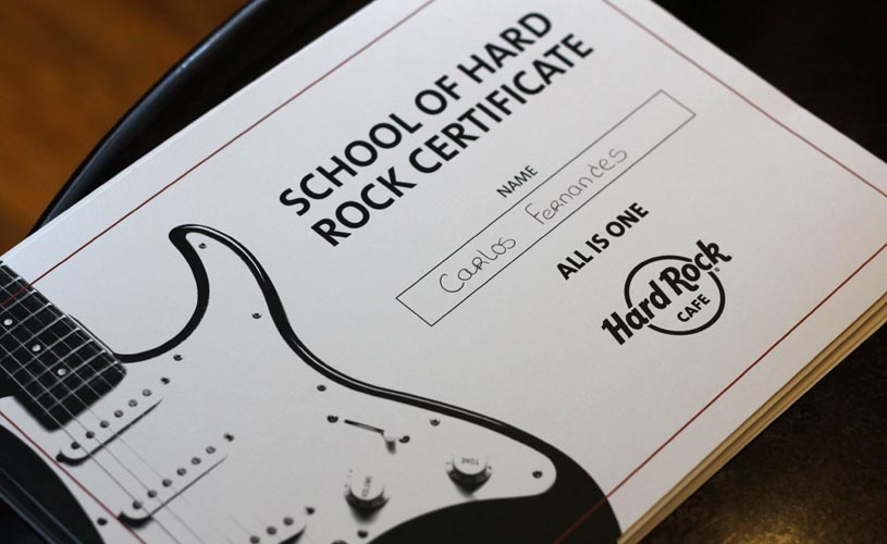 Hard Rock Cafe Lisboa anuncia um programa educativo para escolas